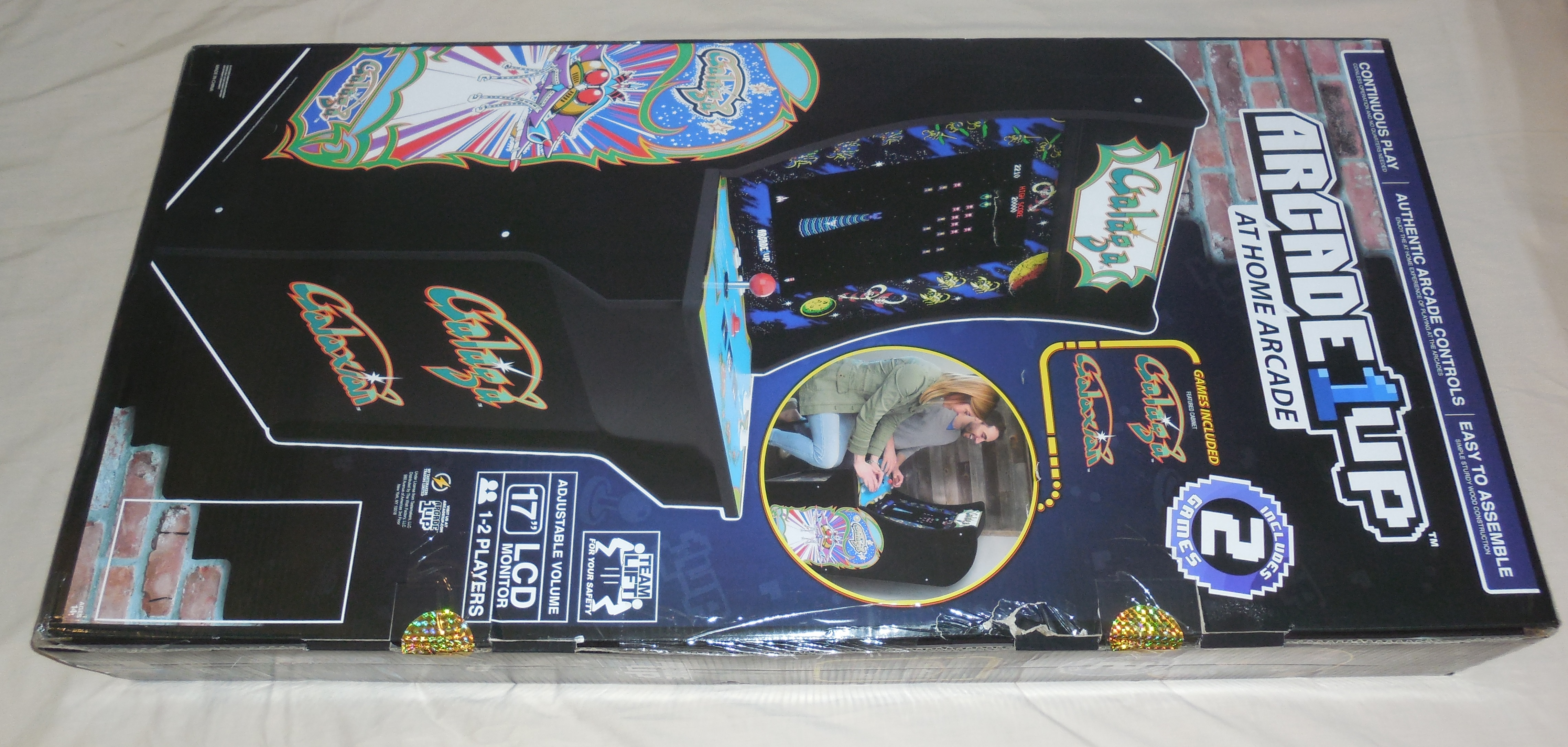 Arcade1Up Galaga Unboxing, Control Panel Modification, and