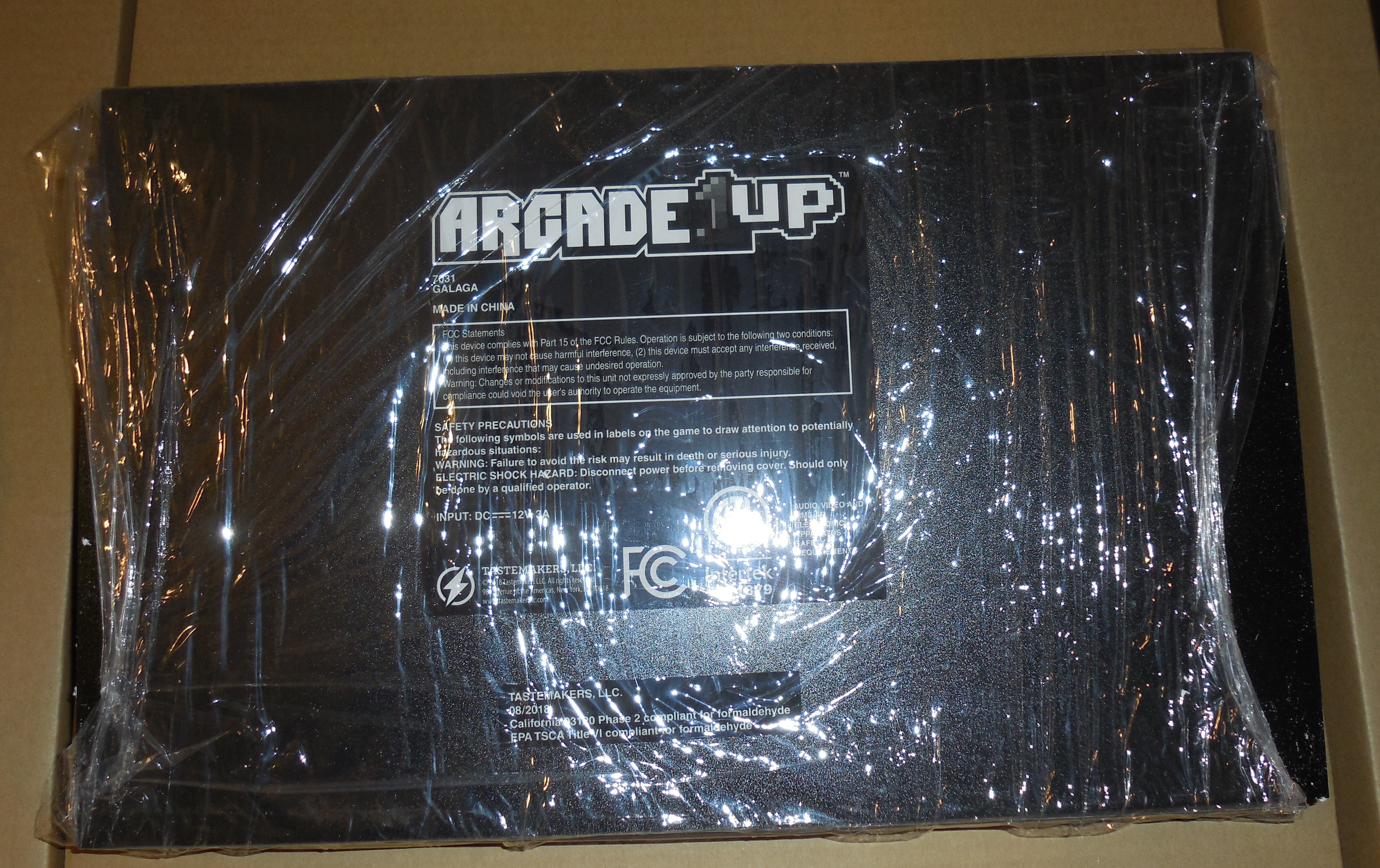 Arcade1Up Galaga Unboxing, Control Panel Modification, and Assembly