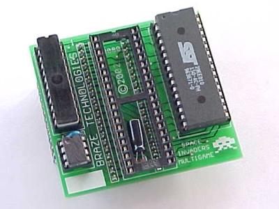 sim kit space invaders